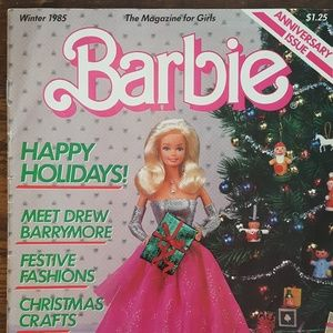 Vintage Barbie Magazine - Winter 1985